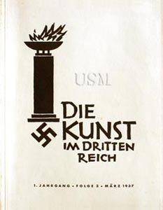 De l'expressionnisme au nazisme; les arts et la contre révolution en Allemagne 1914 -1933. - 7/8 - dans SOCIETE die-kunst-im-dritten-reich